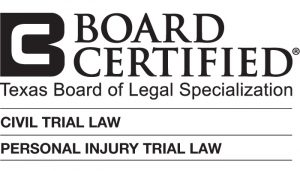 civil trial and personal injury trial board certification